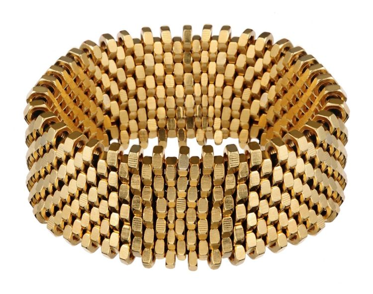 Alice Menter, Gold Isla Cuff